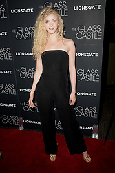August 9, 2017 - New York, NY, USA - August 9, 2017  New York City..Elena Kampouris attending 'The Glass Castle' film premiere on August 9, 2017 in New York City. (Credit Image: © Kristin Callahan/Ace Pictures via ZUMA Press)