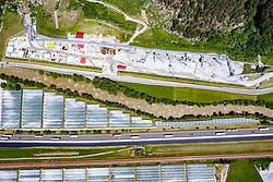 THEMENBILD - BBT Baustelle Mauls Nord mit Zufahrtstunnel, am Dienstag 16. Juni 2020 in Franzensfeste // BBT construction site Mauls Nord with access tunnel, on Tuesday June 16, 2020 in Franzensfeste. EXPA Pictures © 2020, PhotoCredit: EXPA/ Johann Groder