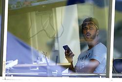 July 23, 2018 - Colombo, Sri Lanka - Sri Lankan cricket captain Dinesh Chandimal watches the match during the 4th day's play in the 2nd test cricket match between Sri Lanka and South Africa at SSC International Cricket ground, Colombo, Sri Lanka on Monday  23 July 2018  (Credit Image: © Tharaka Basnayaka/NurPhoto via ZUMA Press)