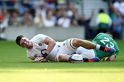 Tom Curry of England scores a try in the second half - Mandatory byline: Patrick Khachfe/JMP - 07966 386802 - 24/08/2019 - RUGBY UNION - Twickenham Stadium - London, England - England v Ireland - Quilter International