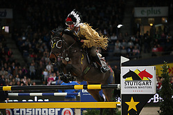 Kölz Markus, (GER), Shella<br /> Speed and handiness competition with costumes<br /> Stuttgart - German Masters 2015<br /> © Hippo Foto - Stefan Lafrentz