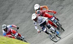 11-08-2018 BMX: EUROPEAN CHAMPIONSHIPS BMX CYCLING: GLASGOW<br /> Laura Smulders heeft haar succesjaar een vervolg gegeven bij het Europees kampioenchap BMX. Nadat ze in juni al de wereldtitel veroverde in Bakoe, was Laura ook in de Schotse stad de sterkste. Merel Smulders (NED) volgt haar<br /> <br /> Foto: SCS/Soenar Chamid