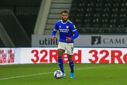 Cardiff City midfielder Leandro Bacuna (7)  during the EFL Sky Bet Championship match between Derby County and Cardiff City at the Pride Park, Derby, England on 28 October 2020.