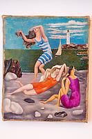 France, Paris (75), Musee Picasso, Les Baigneuses 1918 // France, Paris, Picasso museum, Bathers 1918