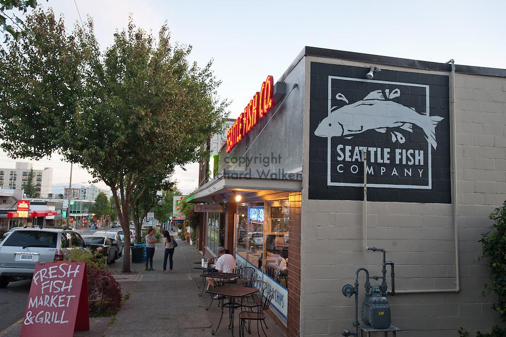 2012 August 27 - Seattle Fish Company, West Seattle, WA. By Richard Walker