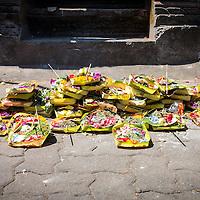Hindu Offerings in Kuta