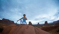Heeki Park at Monuent Valley, Arizona