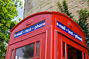 Telephone, email and text booth in the Cotswolds, United Kingdom