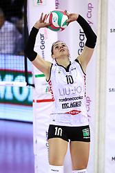 11-05-2017 ITA: Finale Liu Jo Modena - Igor Gorgonzola Novara, Modena<br /> Novara heeft de titel in de Italiaanse Serie A1 Femminile gepakt. Novara was oppermachtig in de vierde finalewedstrijd. Door een 3-0 zege is het Italiaanse kampioenschap binnen. / FERRETTI FRANCESCA<br /> <br /> ***NETHERLANDS ONLY***
