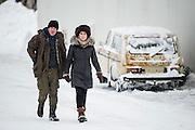 Fortitude Series 02<br /> Episode 03<br /> CHARACTER NAME / Cast Name: MICHAEL LENNOX / Dennis Quaid, HILDUR ODEGARD / Sofie Gråbøl<br /> ©Sky Atlantic 2016