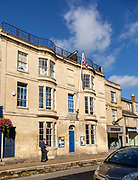 Conservative Club building in town centre of Melksham, Wiltshire, England, UK