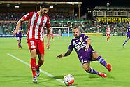 Perth Glory vs Melbourne City Jan 2016