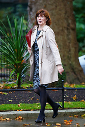 © Licensed to London News Pictures. 21/10/2014. LONDON, UK. Education Secretary Nicky Morgan attending to a cabinet meeting in Downing Street on Tuesday, 21 October 2014. Photo credit: Tolga Akmen/LNP
