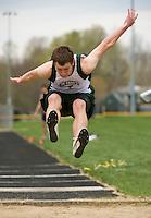 Gilford High School Track meet May 2, 2013.