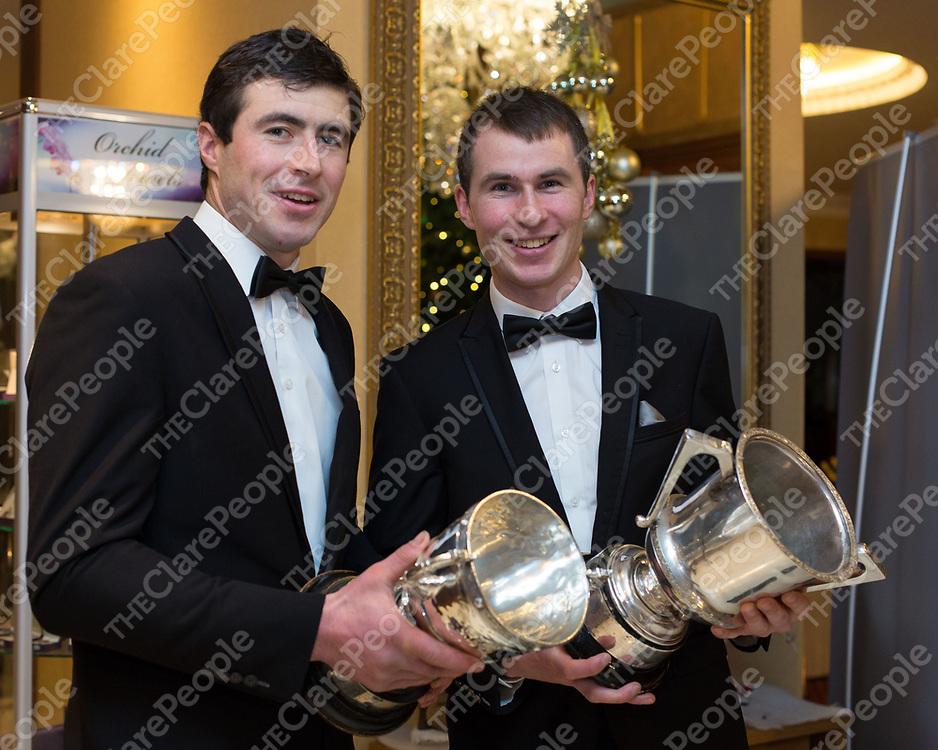 Ballyea Senior Hurlers James and Brian Murphy
