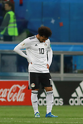 June 19, 2018 - SãO Petersburgo, Rússia - SÃO PETERSBURGO, MO - 19.06.2018: RUSSIA VS EGYPT - Mohamed Salah during the match between Russia and Egypt valid for the 2018 World Cup held at the Zenit Arena in St. Petersburg, Russia. (Credit Image: © Ricardo Moreira/Fotoarena via ZUMA Press)