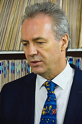 Pictured: Dr Alan McDevitt, Chairman of BMA's Scottish General Practitioners Committee.<br /> <br /> Today Health Secretary Shona Robison, MSP, visited The Grange Medical Practice in Edinburgh to mark an agreement with doctors' union, the BMA,  on the future of primary care services. <br /> <br /> Ger Harley | EEm 3 November 2016
