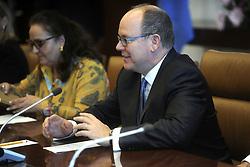 Fürst Albert besucht das UN Headquarter in New York / 241016 ***Prince Albert II of Monaco visits The UN Headquarters. (NYC)***