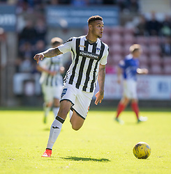 Dunfermline's Ben Richards-Everton. <br /> Dunfermline 5 v 1 Cowdenbeath, Scottish League Cup game played today at East End Park.