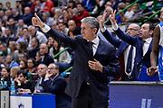 DESCRIZIONE : Eurolega Euroleague 2015/16 Gir.D Dinamo Banco di Sardegna Sassari - Unicaja Malaga<br /> GIOCATORE : Marco Calvani<br /> CATEGORIA : Allenatore Coach Ritratto Esultanza<br /> SQUADRA : Dinamo Banco di Sardegna Sassari<br /> EVENTO : Eurolega Euroleague 2015/2016<br /> GARA : Dinamo Banco di Sardegna Sassari - Unicaja Malaga<br /> DATA : 10/12/2015<br /> SPORT : Pallacanestro <br /> AUTORE : Agenzia Ciamillo-Castoria/L.Canu