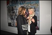 ANOUSKA SENGE; GABY SENGE, Sotheby's Frieze week party. New Bond St. London. 15 October 2014.
