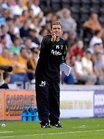 Photo: Jed Wee/Sportsbeat Images.<br /> Hull City v Norwich City. Coca Cola Championship. 25/08/2007.<br /> <br /> Norwich manager Peter Grant.
