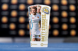 Centurions Cups with Brett Sturgess prior to kick off - Mandatory by-line: Ryan Hiscott/JMP - 19/10/2019 - RUGBY - Sandy Park - Exeter, England - Exeter Chiefs v Harlequins - Gallagher Premiership Rugby