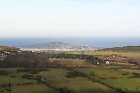 View of Killiney hill Dublin Ireland