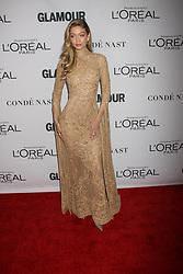 November 13, 2017 - New York City, New York, USA - 11/13/17.Gigi Hadid at The 2017 Glamour Women of the Year Awards in Brooklyn, New York. (Credit Image: © Starmax/Newscom via ZUMA Press)