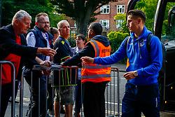 Tom Nichols of Bristol Rovers arrives at Loftus Road prior to kick off  - Mandatory by-line: Ryan Hiscott/JMP - 28/08/2018 - FOOTBALL - Loftus Road - London, England - Queens Park Rangers v Bristol Rovers - Carabao Cup