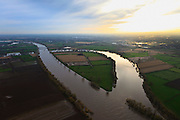 Nederland, Noord-Brabant, Gemeente Boxmeer, 15-11-2010; Regtersteegsche Weiden, afgesneden meander van de Maas. Cut off meander of the Meuse near Boxmeer..luchtfoto (toeslag), aerial photo (additional fee required).copyright foto/photo Siebe Swart