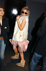 MISS SOPHIA ACKROYD at a party hosted by Panerai and the Baglioni Hotel, 60 Hyde Park Gate, London on 6th December 2004.<br /><br />NON EXCLUSIVE - WORLD RIGHTS