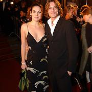 Premiere Bridget Jones Diary II, Tygo Gernandt en vriendin Anna Drijver