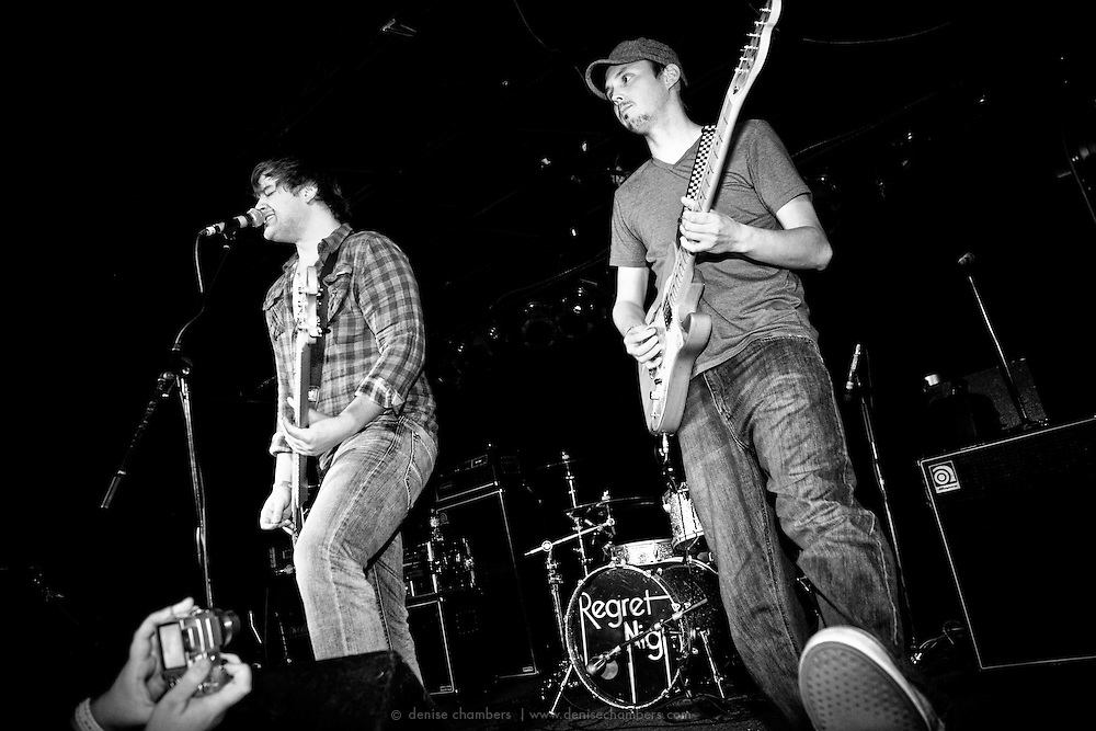 Regret Night performs at the Black Sheep in Colorado Springs, CO.  20 Jan 2010.