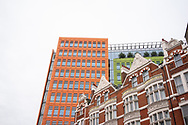 Contemporary architecture in Bloomsbury London