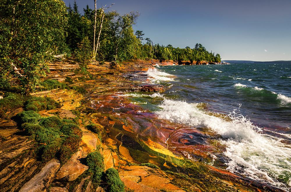 Devils Island<br /> Apostle Islands, Wisconsin