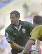 Reading Berkshire, 29/09/02<br /> London Irish vs Wasps,<br /> Exiles, Barry EVERITT,, during the ZURICH PREMIERSHIP RUGBY match at the, Madejski Stadium,  [Mandatory Credit: Peter Spurrier/Intersport Images]
