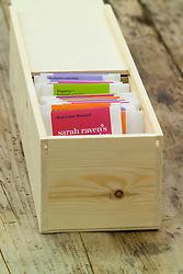 Seed sorting box