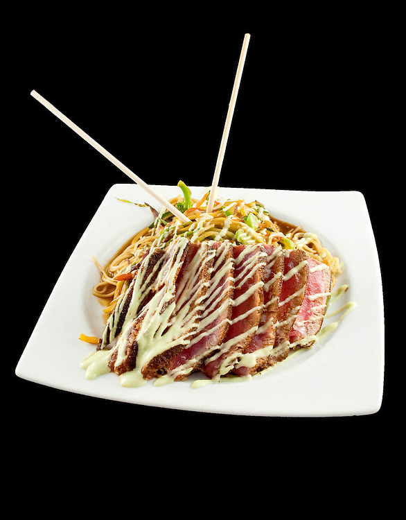 Seared Ahi Tuna with Wasabi Aioli