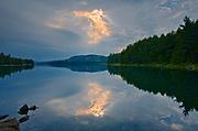 Storm light on Killarney Lake<br />Killarney Provincial Park<br />Ontario<br />Canada