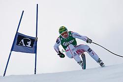 21.01.2011, Hahnenkamm, Kitzbuehel, AUT, FIS World Cup Ski Alpin, Men, Super G, im Bild Klaus Kroell (AUT) takes to the air competing in the 2011 Hahnenkamm Super Giant Slalom race (Super G)part of  Audi FIS World Cup races in Kitzbuhel Austria. EXPA Pictures © 2011, PhotoCredit: EXPA/ M. Gunn