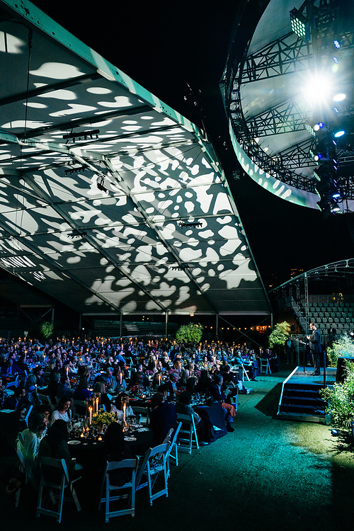 NEW YORK, NY/US - SEPTEMBER 26, 2019: Gerald Walker speaks onstage at SummerStage in Central Park as part of the City Parks Foundation 30 Gala & Concert in Manhattan. PHOTO CREDIT: Eric M. Townsend
