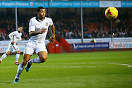 Goal scorer Newport County Midfielder Joss Labadie (6) during the EFL Sky Bet League 2 match between Crawley Town and Newport County at the Checkatrade.com Stadium, Crawley, England on 17 December 2016. Photo by Andy Walter.