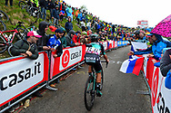 Cesare Benedetti (ITA - Bora - Hansgrohe) during the 101th Tour of Italy, Giro d'Italia 2018, stage 14, San Vito Al Tagliamento - Monte Zoncolan 181 km on May 19, 2018 in Italy - Photo Dario Belingheri / BettiniPhoto / ProSportsImages / DPPI