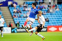 Fotball , Tippeligaen , Eliteserien <br /> 03.07.16 , 20160703<br /> Vålerenga - Odd <br /> Thomas Grøgaard - Odd<br /> Niklas Fernando Nygård Castro - VIF<br /> Foto: Sjur Stølen / Digitalsport