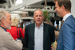 Gerard Dielessen, general director NOC*NSF and Alderman Hilbert Bredemeijer during the launch TeamNL Olympic Festival on June 23, 2021 in The Hague