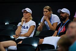 January 5, 2019 - Brisbane, AUSTRALIA - Rennae Stubbs during the semi-final of the 2019 Brisbane International WTA Premier tennis tournament (Credit Image: © AFP7 via ZUMA Wire)
