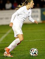 Fifa Womans World Cup Canada 2015 - Preview //  Friendly Match -<br /> Spain vs New Zealand 0-0  ( Municipal Stadium - La Roda , Spain ) <br /> Rebekah Stott of New Zealand