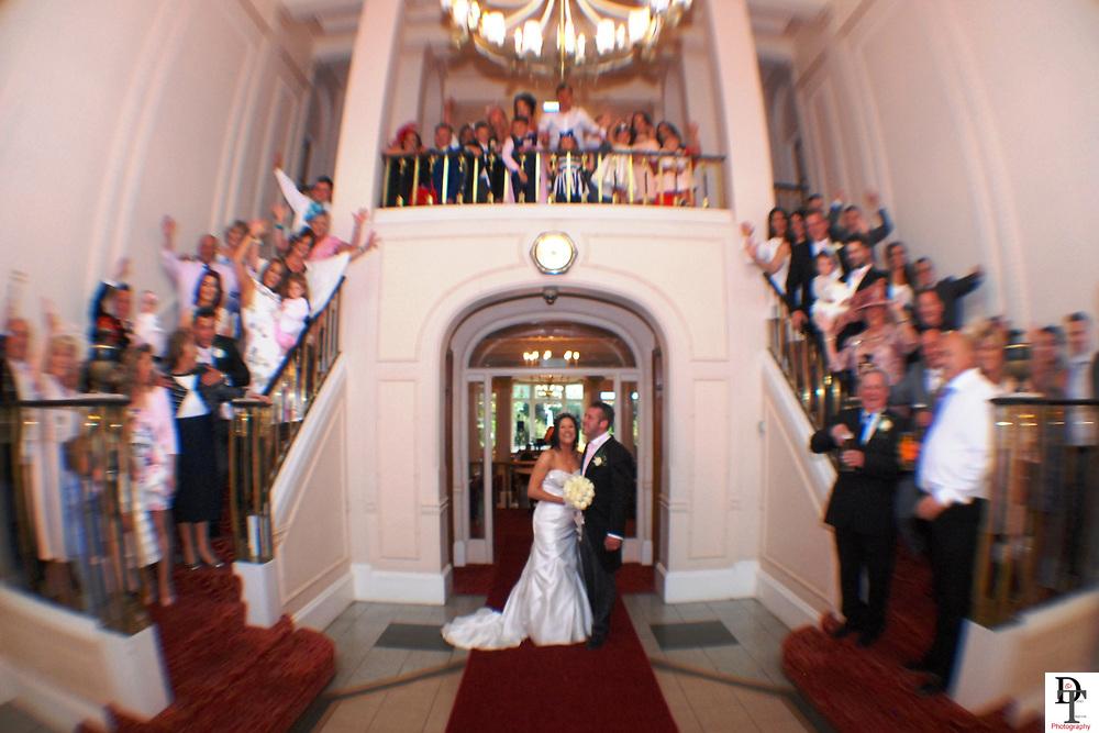 Sarah & Jobe Bowers wedding at the Royal Bath Hotel Bournemouth Royal Bath Hotel Bournmouth Wedding by David Timpson Photography featuring Sarah & Jobe Bowers ceremony at the United reform church Locksheath