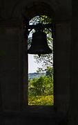 Dobczyce – kamienna dzwonnica.<br /> Dobczyce - stone belfry.